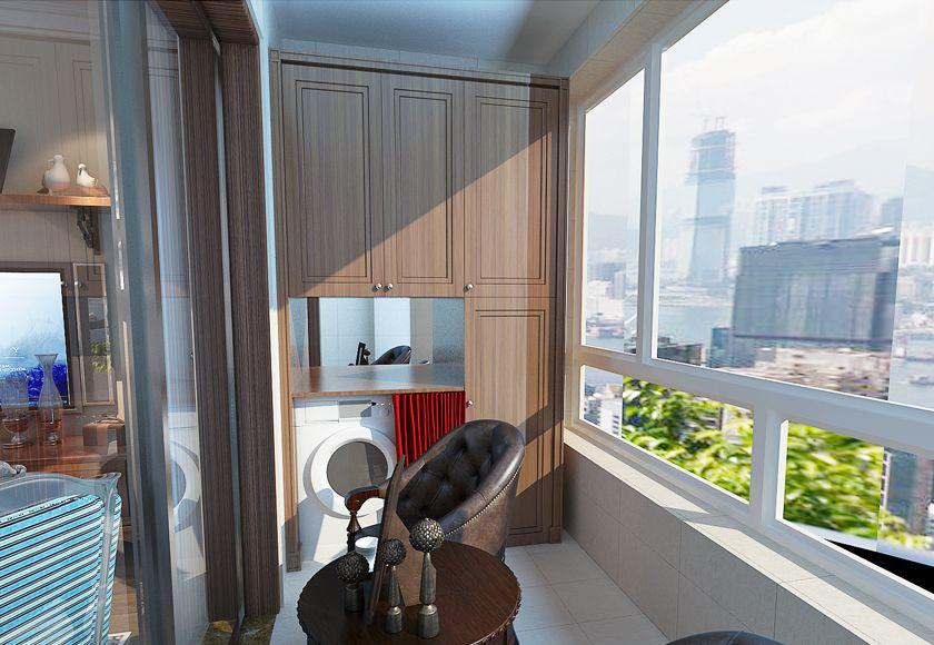 简约 欧式 二居 白领 收纳 80后 小资 阳台图片来自实创装饰百灵在小空间美式特权88平米的分享