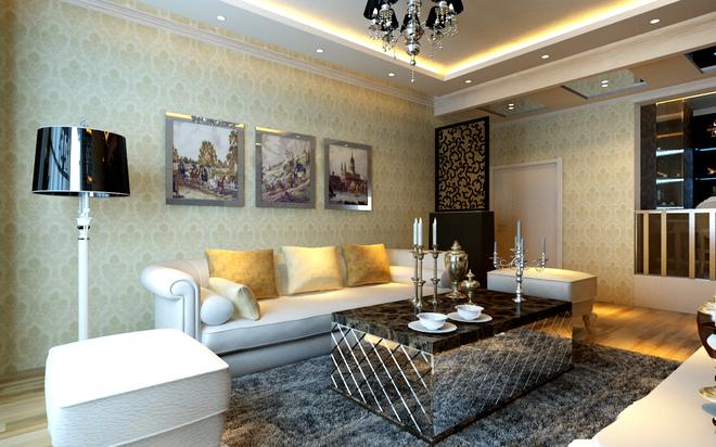 简约 三居 旧房改造 客厅图片来自四川岚庭装饰工程有限公司在122平米老房改造简约时尚家的分享