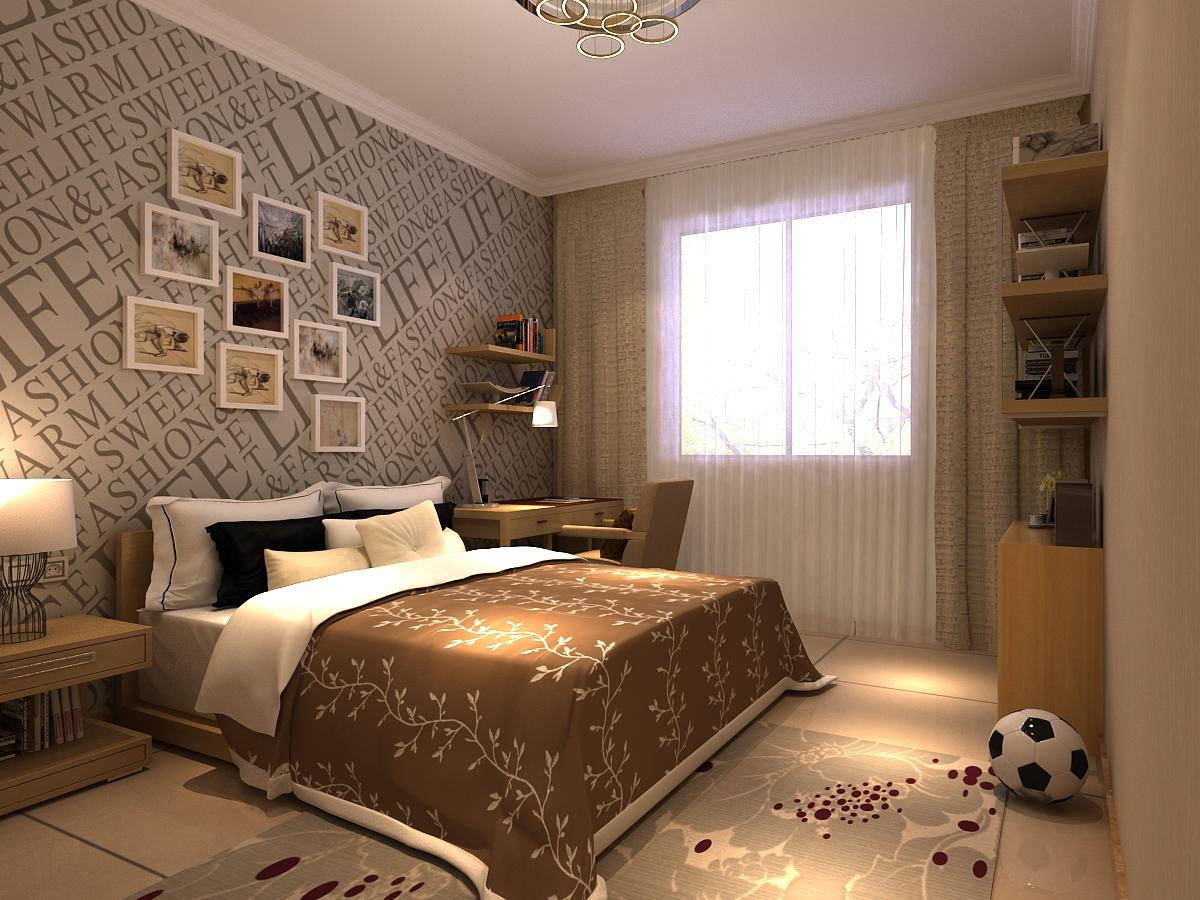 欧式 二居 白领 收纳 格调 卧室图片来自业之峰装饰旗舰店在格调春天的简欧风格案例的分享