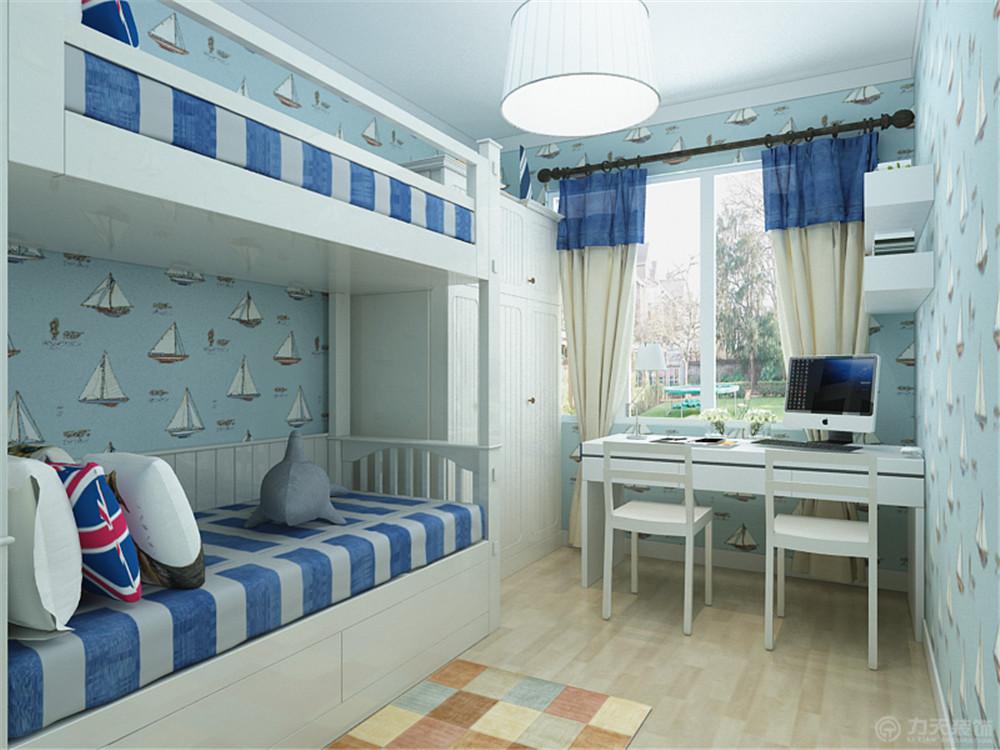 三居 80后 小资 卧室图片来自阳光放扉er在力天装饰-金汇湾95㎡的分享
