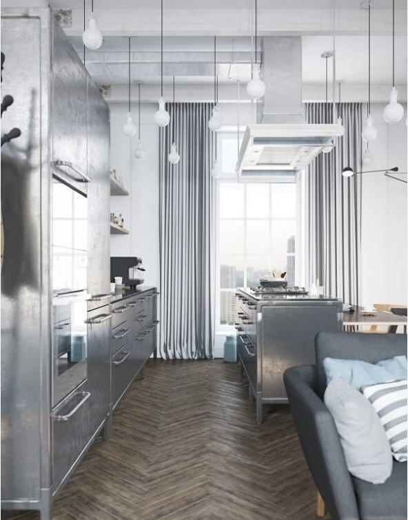 厨房图片来自北京精诚兴业装饰公司在复式现代简约风格的分享