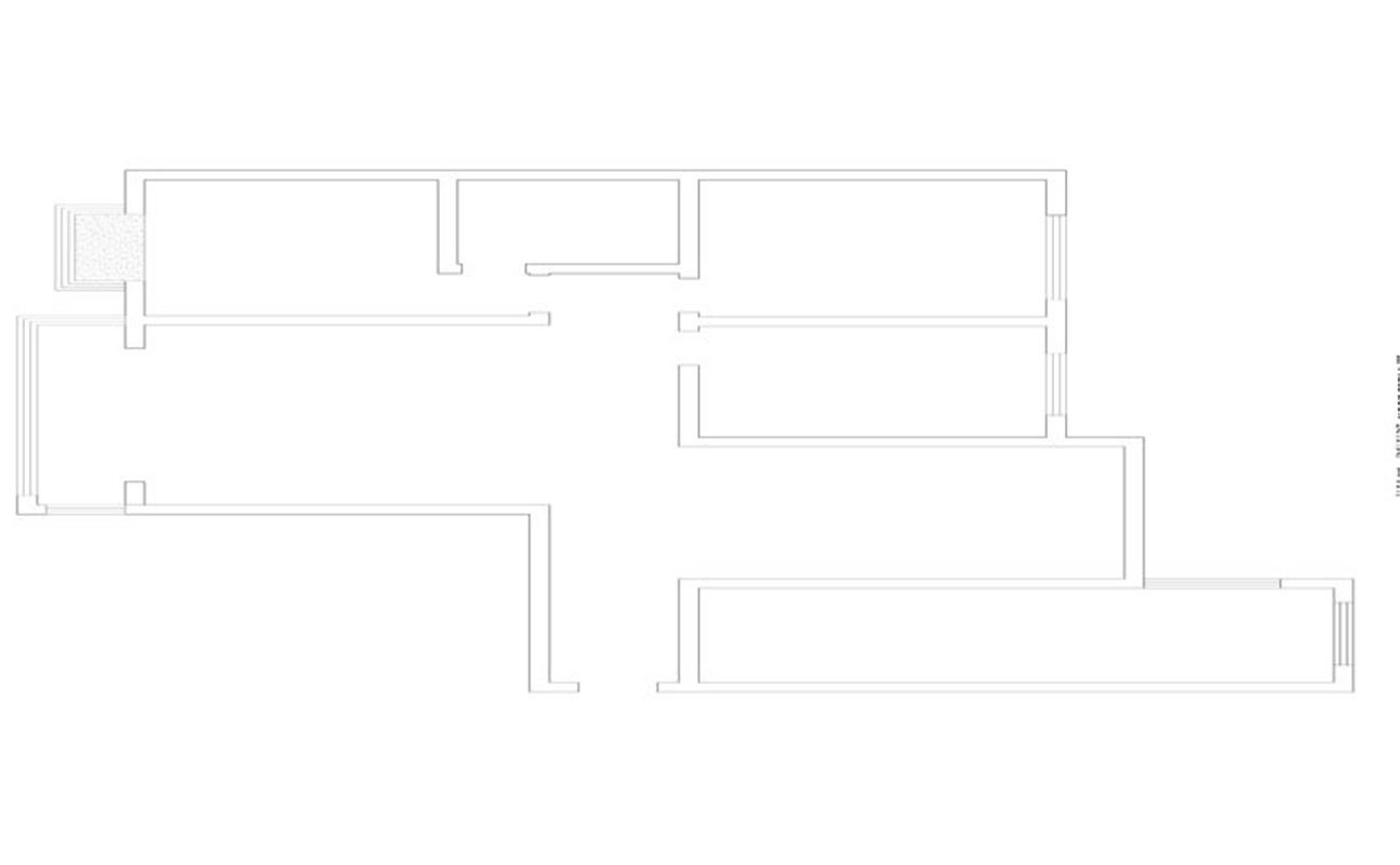银基王朝 简欧 三居 整体家装 户型图图片来自郑州实创装饰啊静在银基王朝奢华简欧三居的分享
