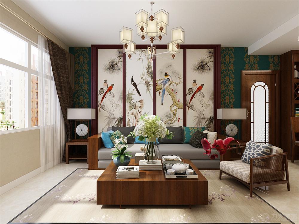 二居 80后 小资 简约 客厅图片来自阳光放扉er在力天装饰-合安园75㎡的分享