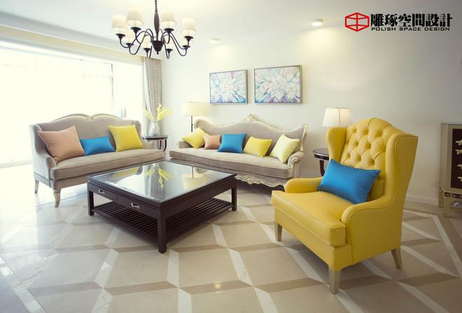 简约 小资 客厅图片来自四川岚庭装饰工程有限公司在法式风格家的分享
