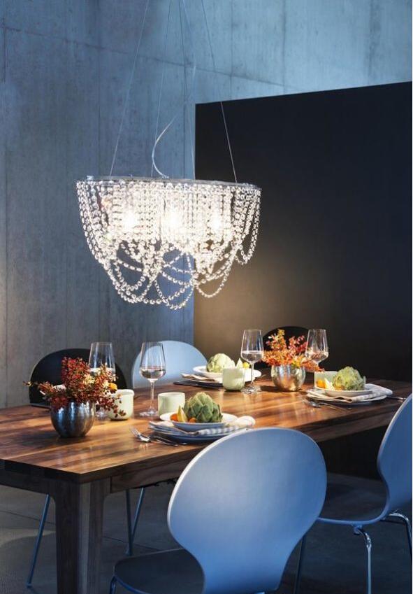 小清新 住宅公寓 吊灯 餐厅图片来自北京精诚兴业装饰公司在让房间立马小清新起来的分享