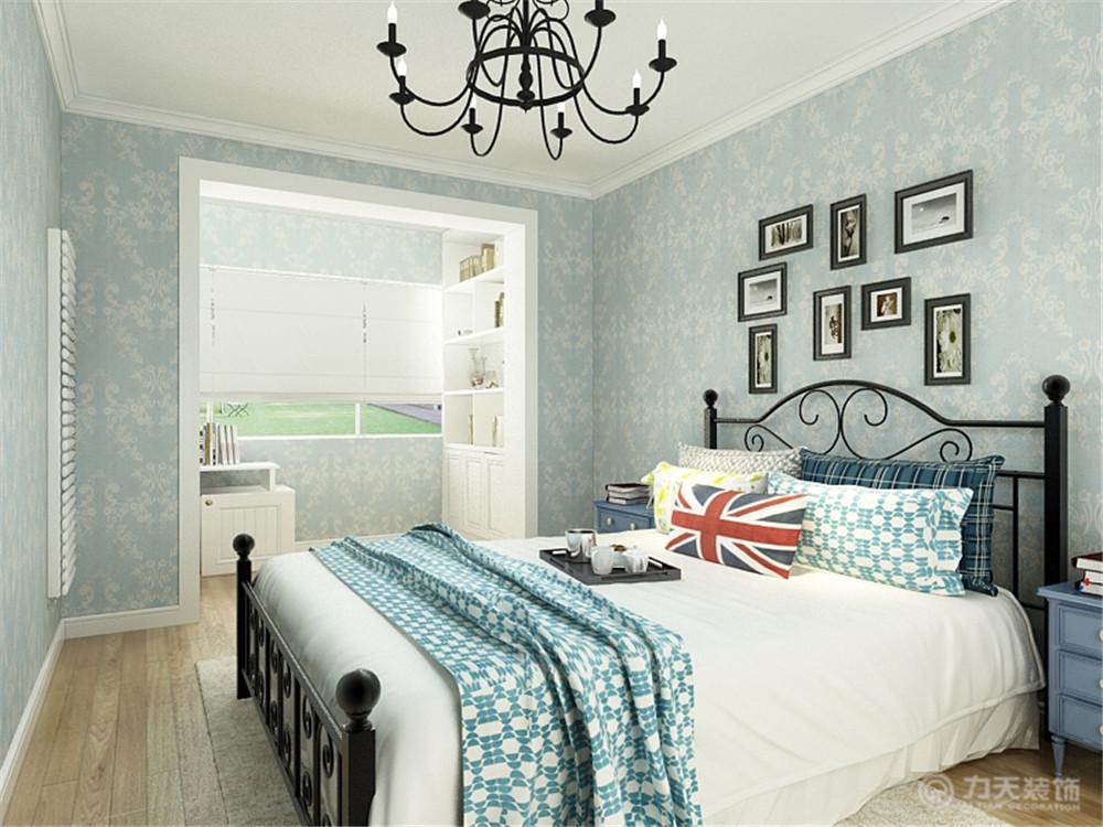 地中海 卧室图片来自阳光力天装饰梦想家更爱家在中嘉花园的分享