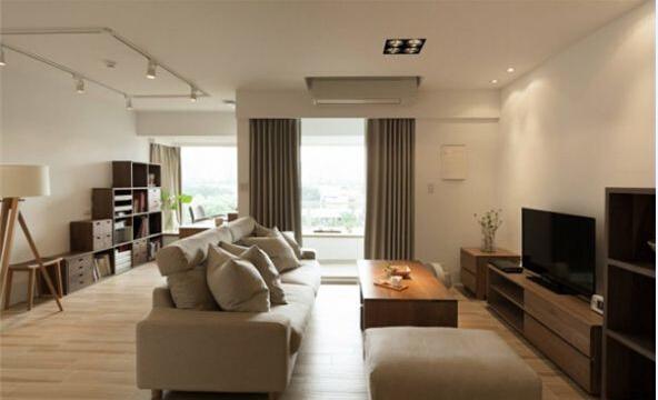 日式 简约 客厅图片来自北京精诚兴业装饰公司在简单的生活日式简约风的阳光公寓的分享