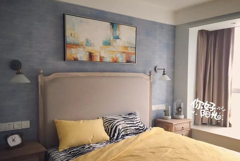 卧室图片来自家装大管家在一切温暖刚刚好 86平简约舒适居的分享