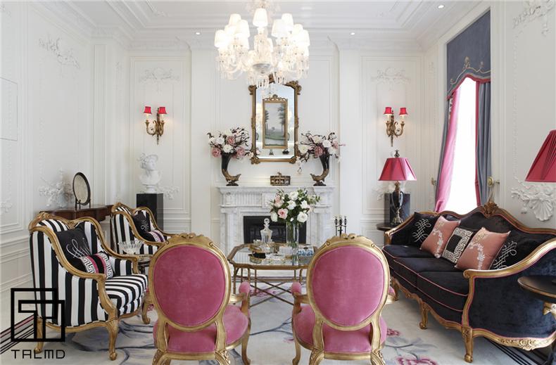 英伦 别墅 家具定制 高端家具 客厅图片来自TALMD图迈家居在【TALMD案例】英伦·深圳九号公馆的分享