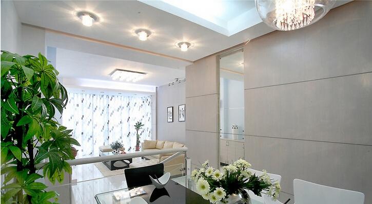三居 简约 现代 小资 收纳 白领 客厅图片来自武汉实创装饰在融侨城124平现代简约风的分享