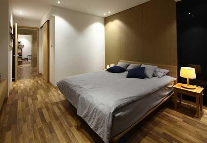 简约 三居 小资 卧室图片来自四川岚庭装饰工程有限公司在现代简约风格的环保个性家的分享