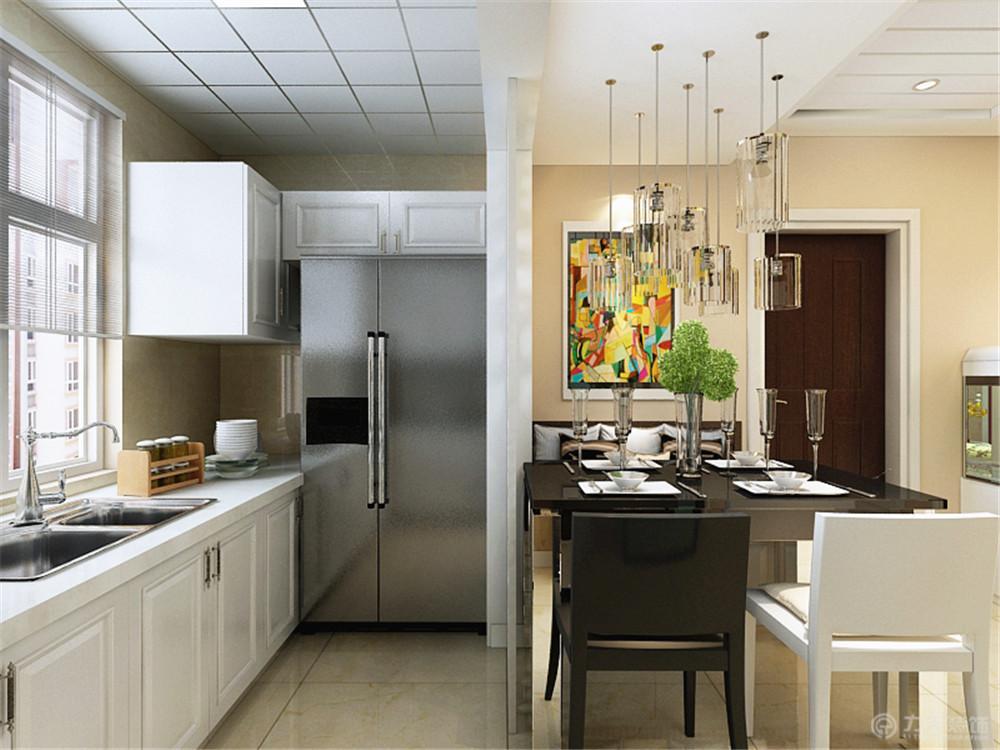 二居 厨房图片来自阳光力天装饰糖宝儿在现代简约 | 荣雅园 73.5㎡的分享