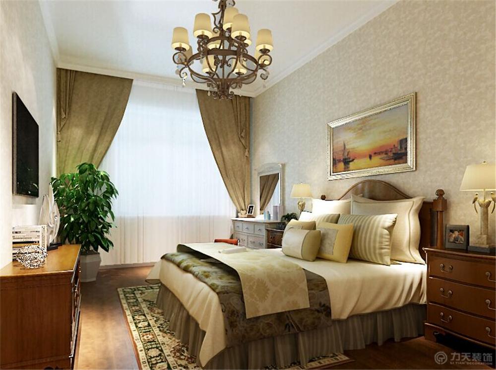 三居 80后 小资 卧室图片来自阳光放扉er在力天装饰-新村一号140㎡的分享