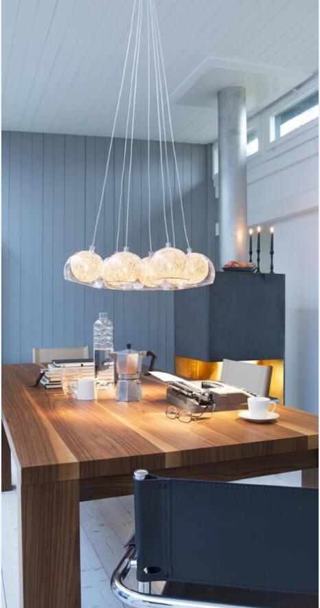 小清新 住宅公寓 吊灯 书房图片来自北京精诚兴业装饰公司在让房间立马小清新起来的分享
