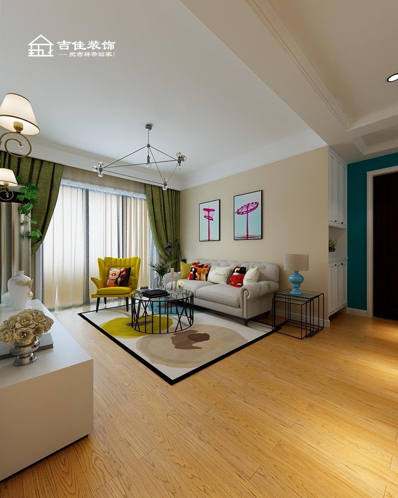 混搭 三居 白领 收纳 旧房改造 小资 装修设计 装修施工 合肥装修 客厅图片来自合肥吉佳装饰在东方蓝海 纯色北欧慢生活的分享