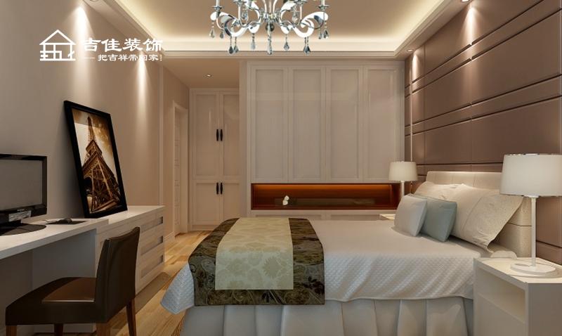 简约 三居 白领 收纳 合肥装修 合肥设计 装修设计 吉佳装饰 卧室图片来自合肥吉佳装饰在海洲景秀世家现代时尚家的分享