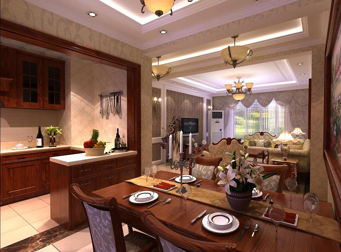 欧式 二居 白领 收纳 格调 餐厅图片来自业之峰装饰旗舰店在格调春天的简欧风格案例的分享