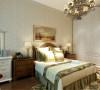 整体色调比较柔和温暖,和客厅的灯光保持一致。让整个空间的视觉感觉看上来没有那么刺眼。 让业主回到家和回到自己的卧室中可以放松身心,缓解一天的疲惫。