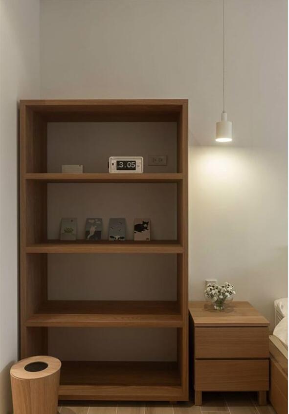 日式 简约 卧室图片来自北京精诚兴业装饰公司在简单的生活日式简约风的阳光公寓的分享