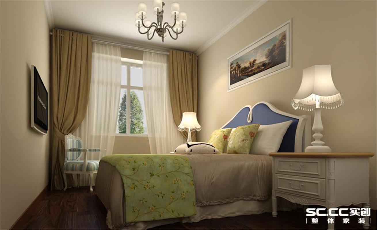 都市家园 美式 三居 整体家装 卧室图片来自郑州实创装饰啊静在华林都市家园美式三居的分享