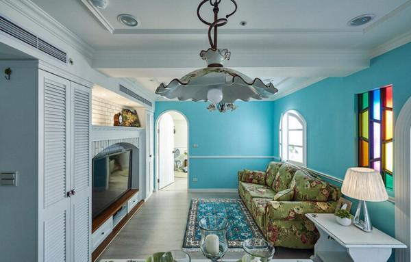 【高清】144平水色现代田园风 雍湖湾140㎡怎么装修 成都高度国际别墅装饰设计