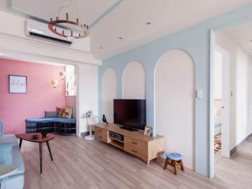 单身女青年最爱的粉色设计公寓