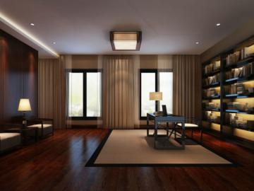 龙泉私人别墅 340平米 现代中式