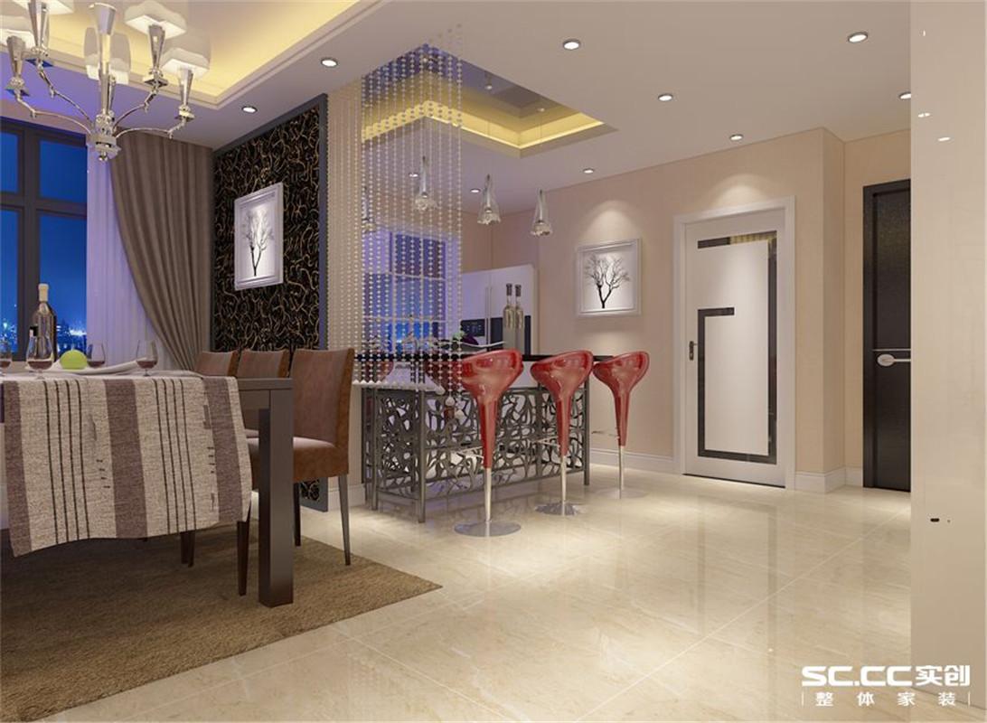 国瑞城 现代简约 三居 整体家装 餐厅图片来自郑州实创装饰啊静在国瑞城现代简约三居的分享