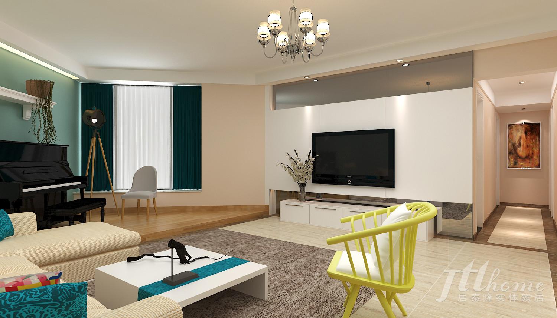 简约 三居 宜居 舒适 温馨 客厅图片来自居泰隆深圳在现代简约三居室拎包入住的分享