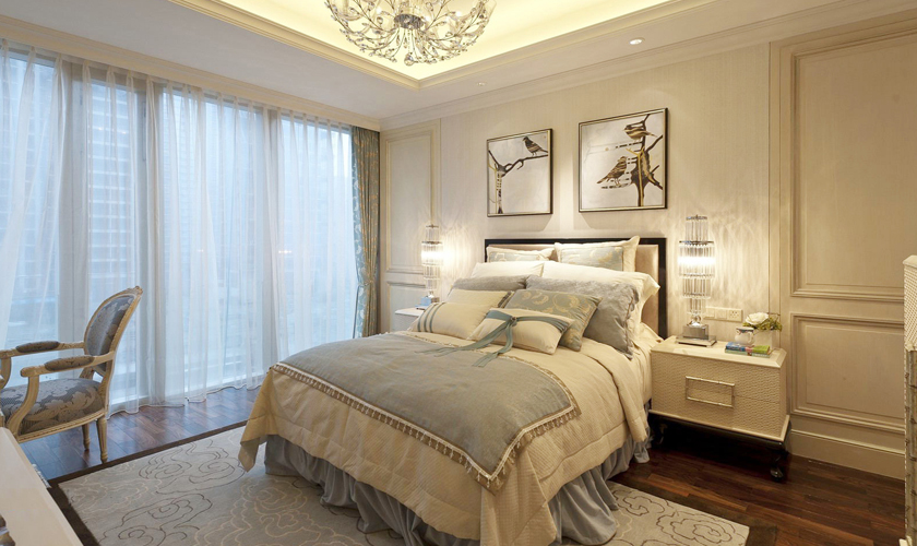 青岛装修 欧式 装饰公司 卧室图片来自青岛威廉装饰在星光华府欧式设计的分享