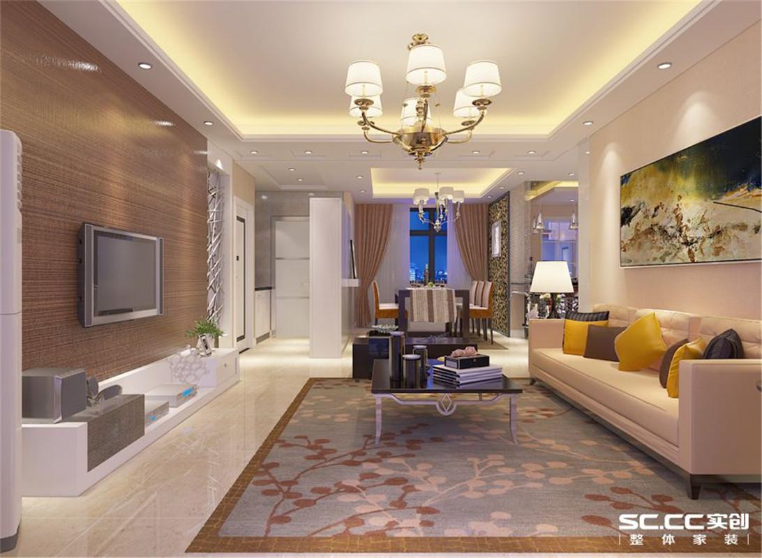 国瑞城 现代简约 三居 整体家装 客厅图片来自郑州实创装饰啊静在国瑞城现代简约三居的分享