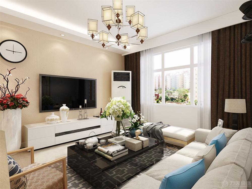 简约 客厅图片来自阳光力天装饰梦想家更爱家在现代简约 合安园 75平米的分享
