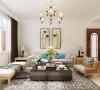 客厅采用L型沙发也起到了虚拟界定空间的作用。