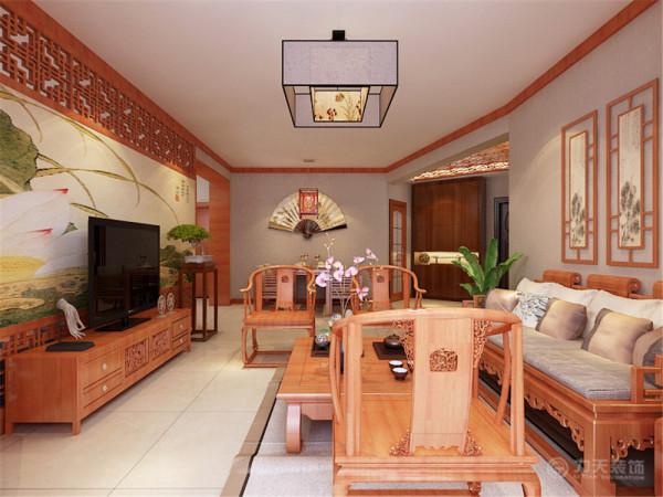 本户型位于顺泰公寓三室两厅一厨两卫 136㎡。本次的设计风格是新中式风格。
