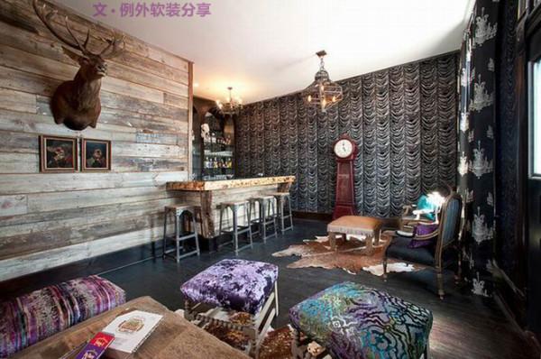 体现着融合的魅力,这就是乡村歌手Miranda Lambert家的室内设计。