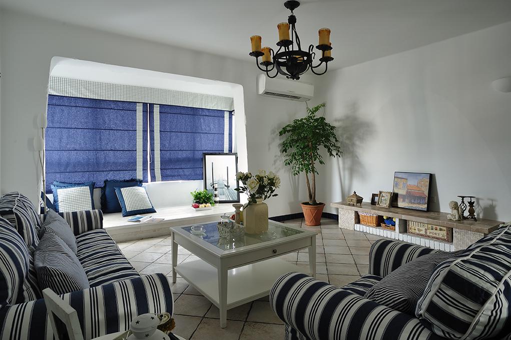 客厅图片来自上海本意空间建筑装饰有限公司在地中海风格的分享