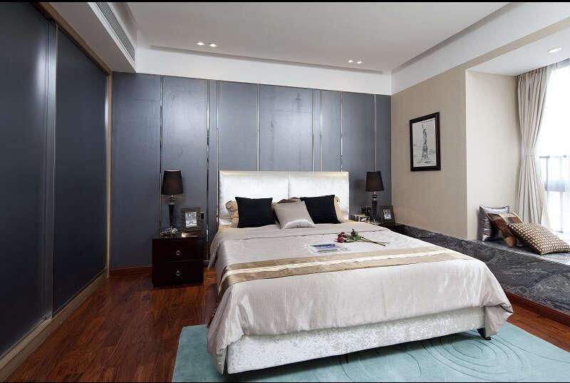 简约 欧式 美式 混搭 大户型 白领 80后 卧室图片来自成都V2装饰在美式混搭风格装修的分享