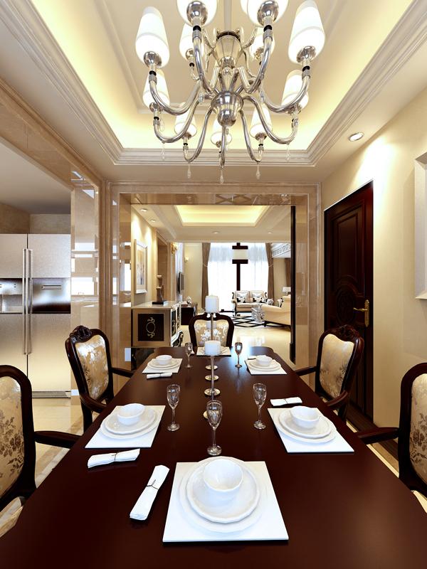 三居 别墅 白领 收纳 80后 小资 生活家 广州装饰 欧式 餐厅图片来自广州生活家家居在珊瑚天峰 192平 中式 欧式的分享
