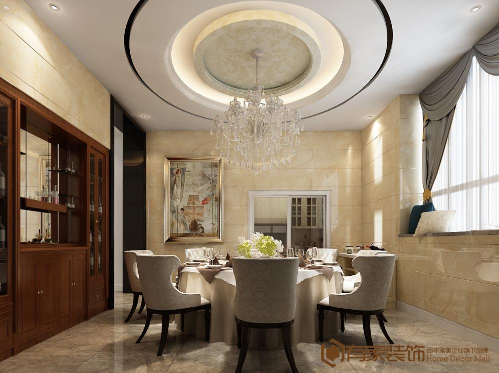 别墅 简约 餐厅图片来自福州有家装饰-小彭在长乐漳港别墅的分享