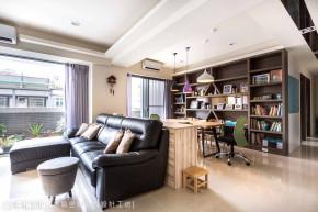 简约 现代 时尚 温馨 三居 小资 80后 书房图片来自幸福空间在175平打造现代简约感幸福宅的分享