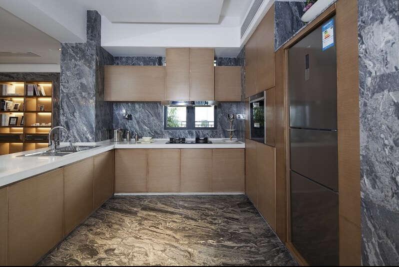 简约 欧式 美式 混搭 大户型 白领 80后 厨房图片来自成都V2装饰在美式混搭风格装修的分享