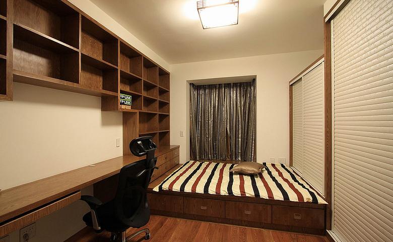 书房图片来自家装大管家在素雅自然休闲 105平简约舒适3居的分享