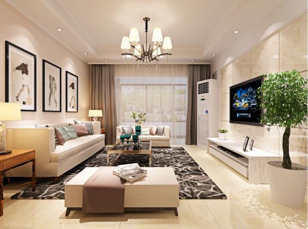 设计主要元素是整个空间是一个低调奢华的空间。