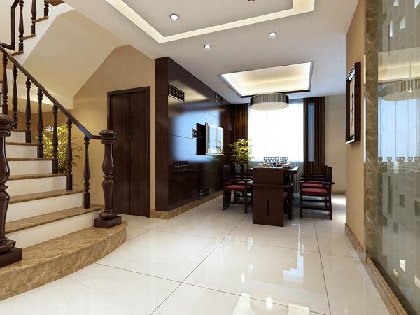 三居 别墅 白领 收纳 80后 小资 生活家 广州装饰 中式风格 餐厅图片来自广州生活家家居在珊瑚天峰 192平 中式 欧式的分享