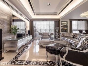 190平双客厅~新古典贵族宅