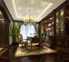 东郊紫园别墅装修美式风格设计