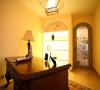 地中海风格 110平米 三室两厅