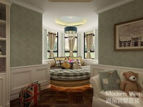 美式 自由 温馨 舒适 儿童房图片来自山东济南尚舍别墅装饰在滨海望海花园别墅的分享