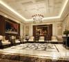 伊顿会所400平欧式古典风格设计