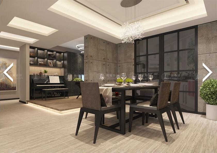 森兰明佳 装修设计 现代风格 腾龙刘真桢 餐厅图片来自许 文斌在森兰名佳三房装修设计方案的分享